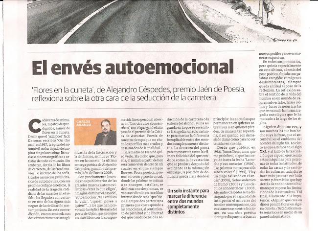 Reseña en El Norte de Castilla, por Carlos Aganzo