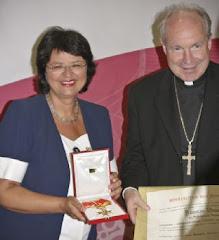 Il Cardinale Schönborne  e  il vicesindaco Renate Brauner
