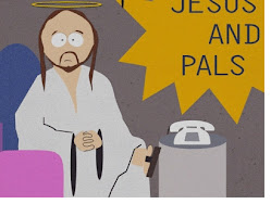 GESU' IN UNA SCENA DEL BLASFEMO CARTONE SOUTH PARK