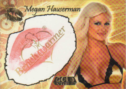 Megan Hauserman Kiss Card