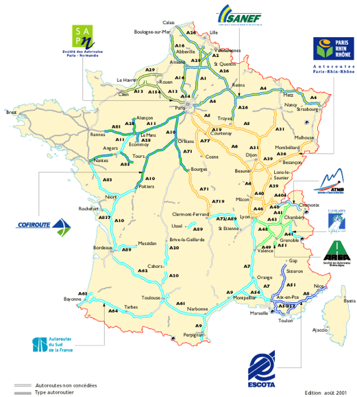 Understanding Autoroutes and Toll Booths in France - Pedal ...