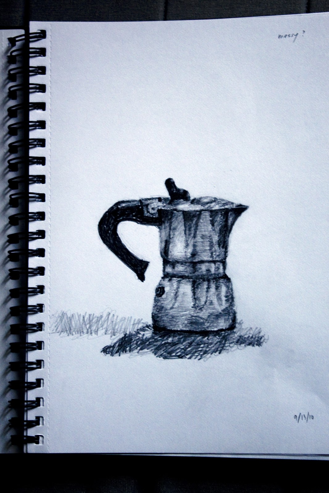 How to draw coffee machine