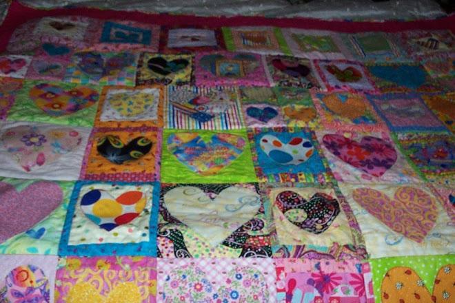 Beca's quilt