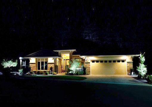 Traditional home decoration landscape lighting design for Outdoor lighting concepts