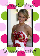 Preppy Pink and Green Digital Photo Card