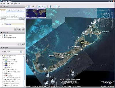 Google Earth 4 - Bermudy