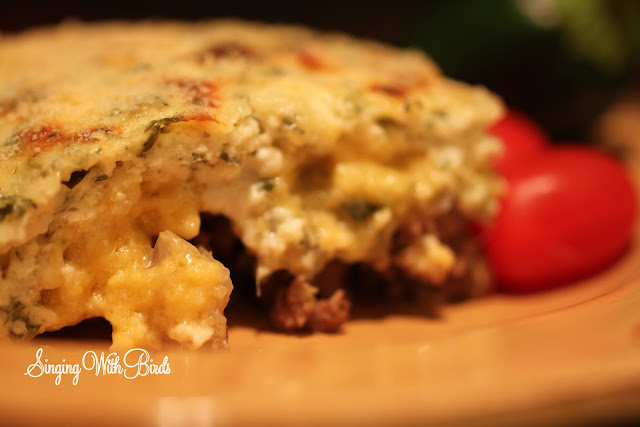 Beef Zucchini Party Casserole