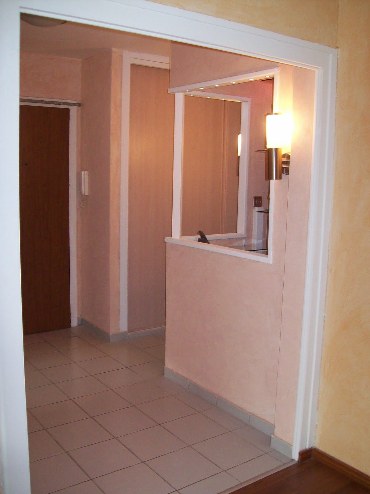 Vente appartement t 4 85m2 l 39 entr e le couloir et le bureau for Couloir appartement