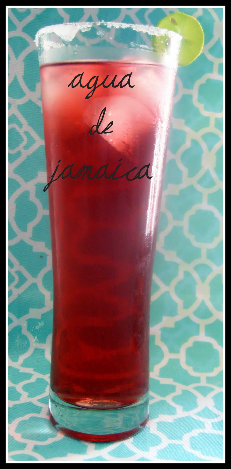 Whisk and A Prayer: Agua de Jamaica (Hibiscus Flower Iced Tea)