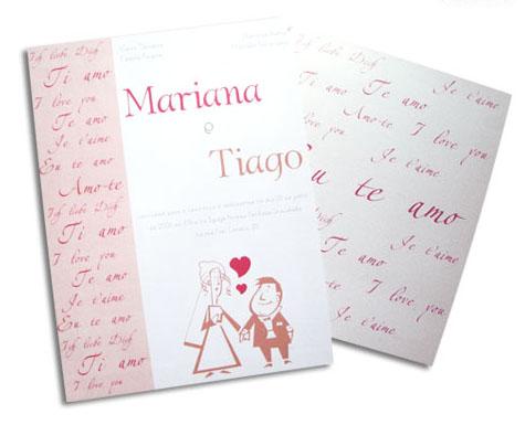 Convites de casamento | Modelos de convite de casamento