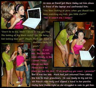 SluttyChrissys TG Captions: August 2010