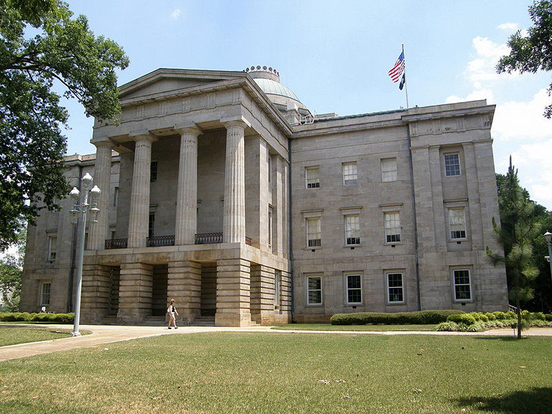 North Carolina State Capitol, 2007. Photo by Jim Bowen, courtesy