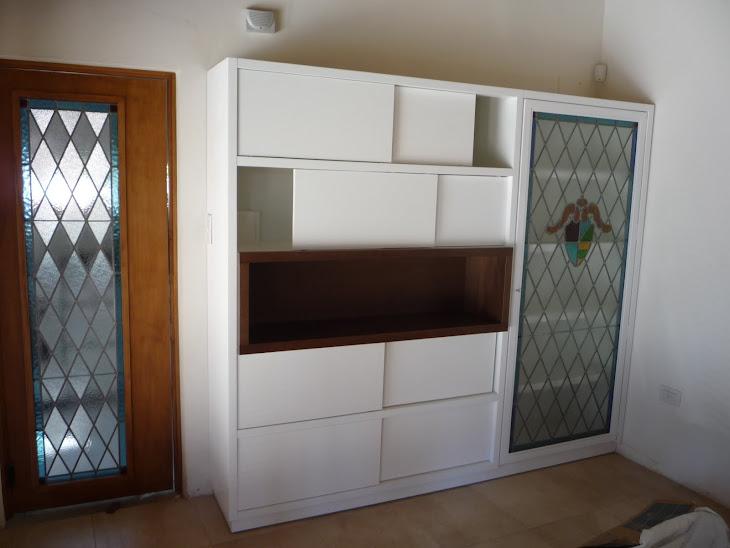 Mueble c/ vitral