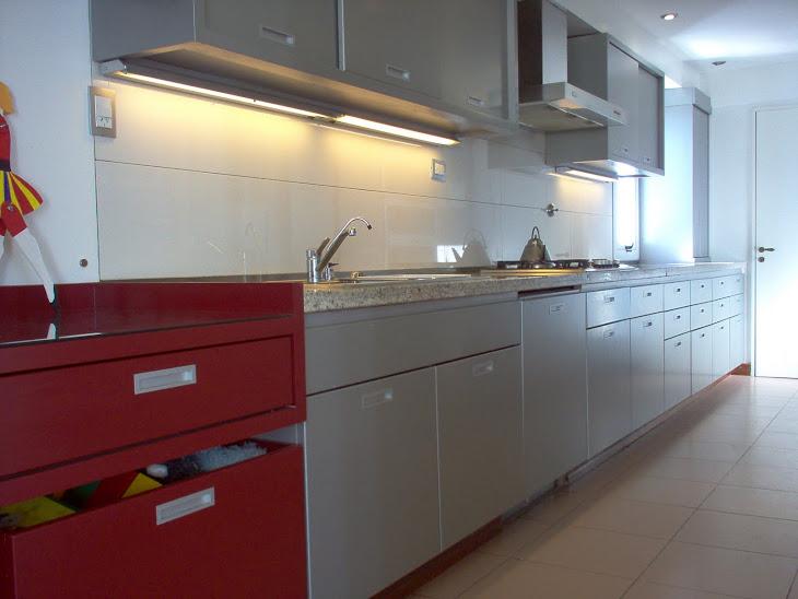 Cocina color Aluminio