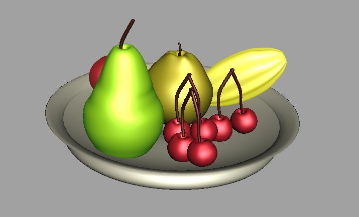De fruteros con frutas - Imagui
