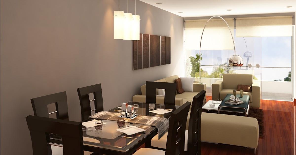 Decoraci n de sala comedor fotos de decoracion de - Fotos de decoracion de interiores ...