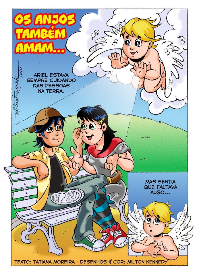 História em quadrinhos: Os anjos também amam