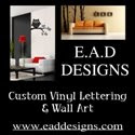 Vinyl provided in conjunction with EAD Designs