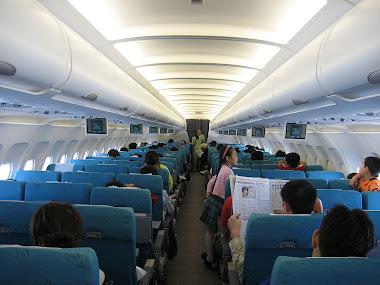 Interior de um A320