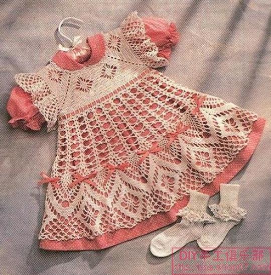 Madonna mia crochet vestidos para niña - Imagui