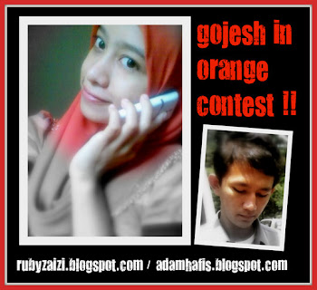 GOJESH IN ORANGE CONTEST !!!