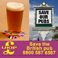 UKIP Save the Pub Campaign