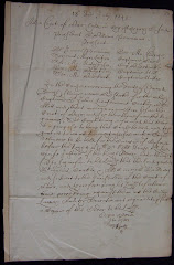 English Civil War legal document