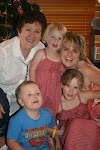 Rose-Anne and Melanie and the grandchildren.