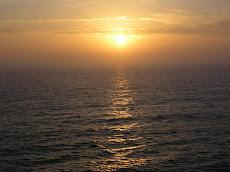 El sol se despide de Cadiz cada atardecer
