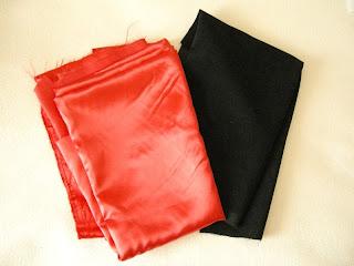 szycie - materiały na torebki