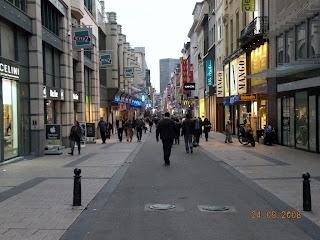 Вечерний Брюссель