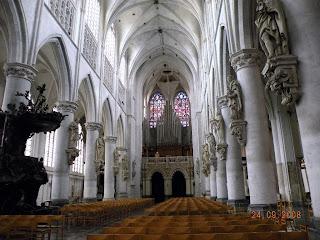 Центральной собор в Мехелене