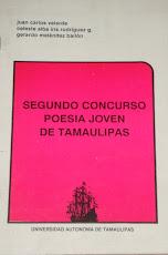 Segundo Concurso Poesía Joven de Tamaulipas