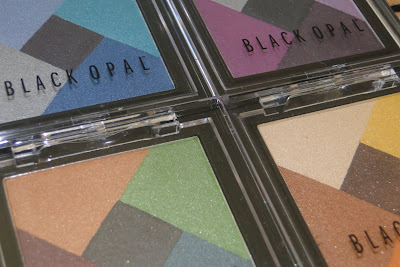 Black Opal Mineral Mosaic eyeshadow palettes