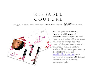 Kissable Couture giveaway!