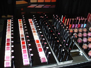 The Artist Summit Miami-Inglot Cosmetics=WHOA! : Clumps of Mascara