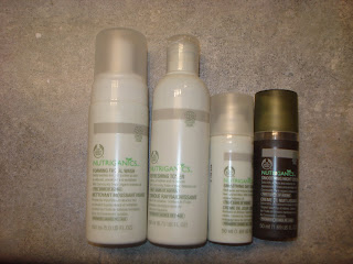 Beauty Review: The Body Shop Nutriganics Skincare line...