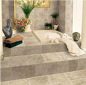 Bathroom Tiles Designs on Bathroom Ceramic Tile Is Resistant It Is Not Necessary To Replace