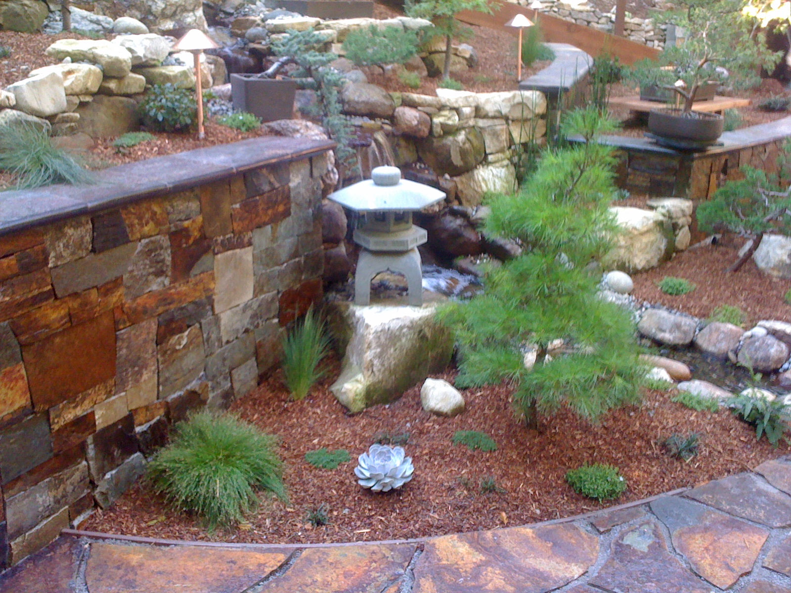 Living Waters Landscaping Asheville Santa Cruz Landscaping Water