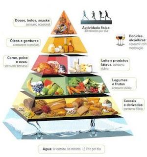 Perdendo Tempo Pirâmide Alimentar E Saúde