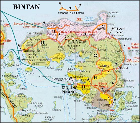 bintan: Peta Provinsi Kepulauan Riau