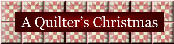 A Quilter&#39;s Christmas