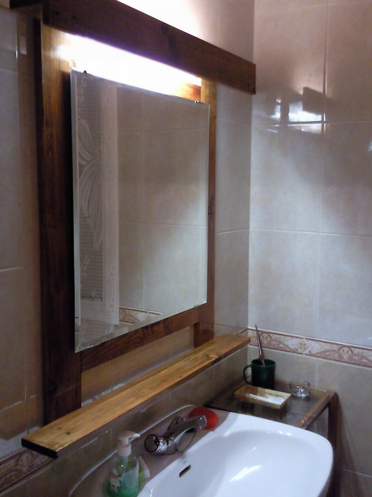 Botiquin Para Baño Moderno:Muebles Espejo Baño : CREAR, RESTAURAR Y RECICLAR: ESPEJO MUEBLE BAÃ
