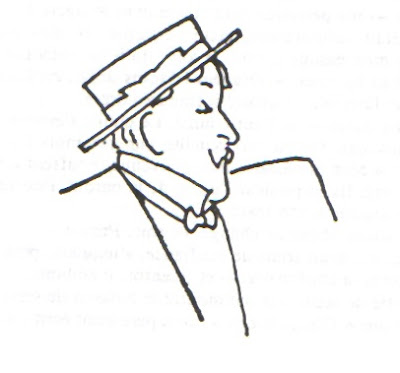 Alphonse Allais et son canotier
