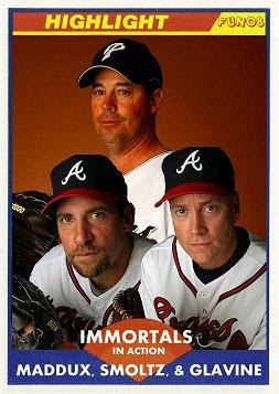 Glavine doesn't look like Smoltz or Maddux