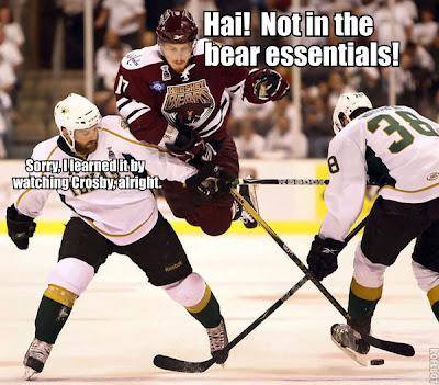 Chris Bourque bear essentials