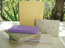Handbound diaries and notebooks