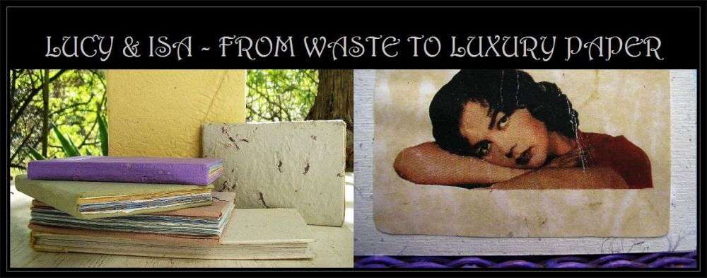LUCY AND ISA, FROM WASTE TO ART