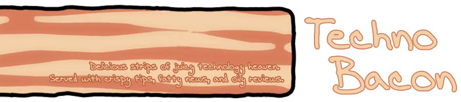 Techno Bacon | Delicious strips of juicy technology heaven