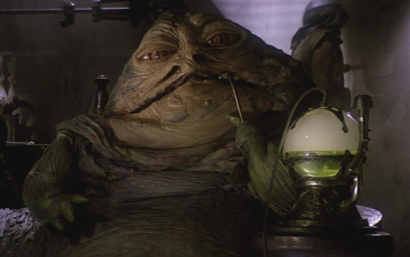 we'll laugh about this tomorrow: November 2009 Jabba The Hutt Choked